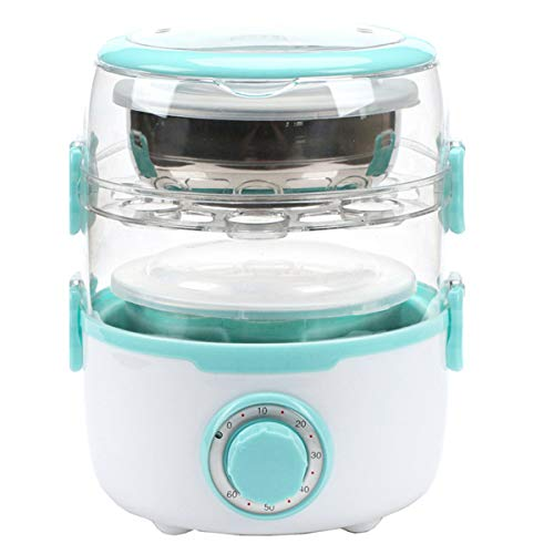 New Electric Steamer Lunch Box 110V Multifunctional Timing Cooking...