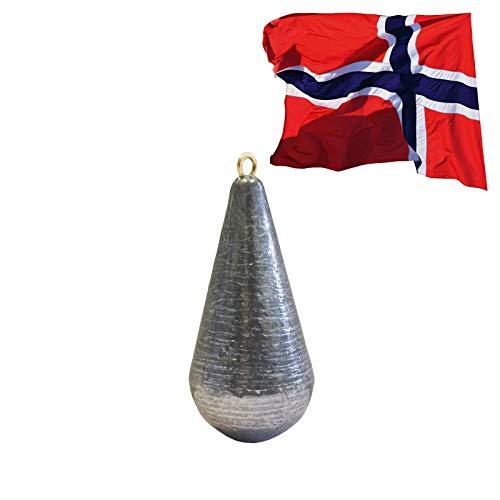 Jackson Sea Norwegen Angeln Gewicht Zubehör - Tiefsee-Blei Natur 200g