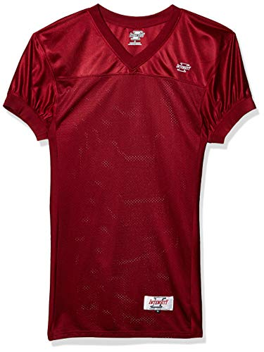Intensity Mens Action Jersey, Scarlet, X-Large