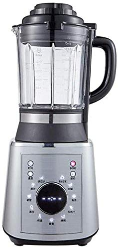 Blender Smoothie Maker Met Grinder Household Grote Capaciteit Koken Sap Machine (Color : Silver)