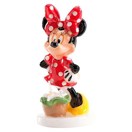 DEKORA Vela cumpleaños Minnie Disney