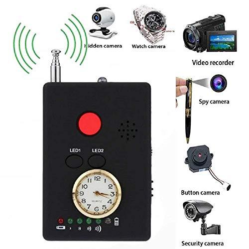 JSX Mini Drahtlose Versteckte Kamera, Anti-Spyware Wiretap Bug Handy GPS RF Ton Signal Spy-Geräte-Detektor-Sucher