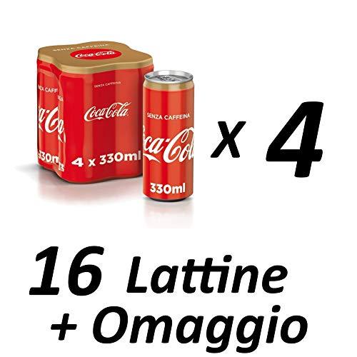 Coca-Cola senza caffeina - 330 ml (Promozione Sales & Service) Pack D