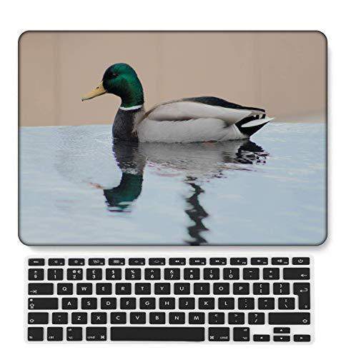 GangdaoCase Carcasa rígida de plástico ultrafina, ligera, compatible con MacBook Pro de 13 pulgadas con Touch Bar/Touch ID con teclado del Reino Unido A2289/A2251 (Feather Series 0445)