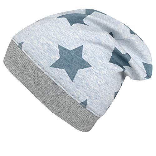 Wollhuhn Gorro ecológico con estrellas (tejido ecológico) para niñas y niños, 20150225...