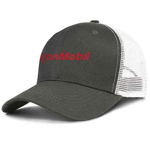 Unisex Classic Baseball Cap Vintage ExxonMobil-Logo- Biking Dad Hat