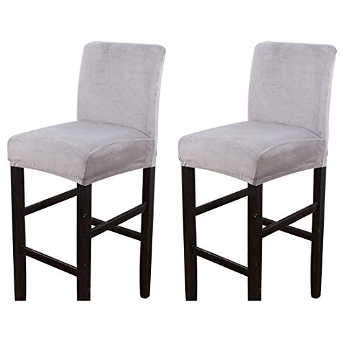 Dingtuo 2/4PCS Chair Cover Counter Height Bar Stool Slipcovers High Seat Chair Protectors #1