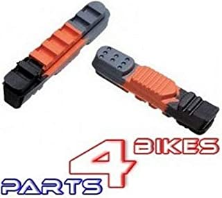 P4B 3-C-470Tc-Sb 刹车片适用于Rr制动鞋,黑色/橙色,均码