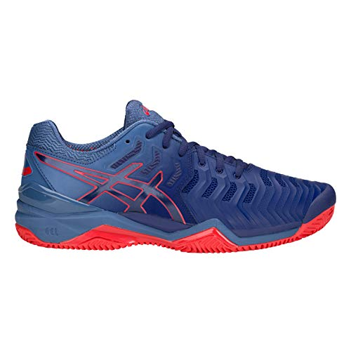 ASICS Gel-Resolution 7 Clay, Scarpe da Tennis Uomo, Bleu Roi Bleu Roi, 42 EU