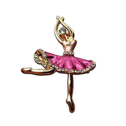 Seraphis Ballett Brosche Dancing Girl Pin Broschen für Frauen Mädchen Ballerina Badge