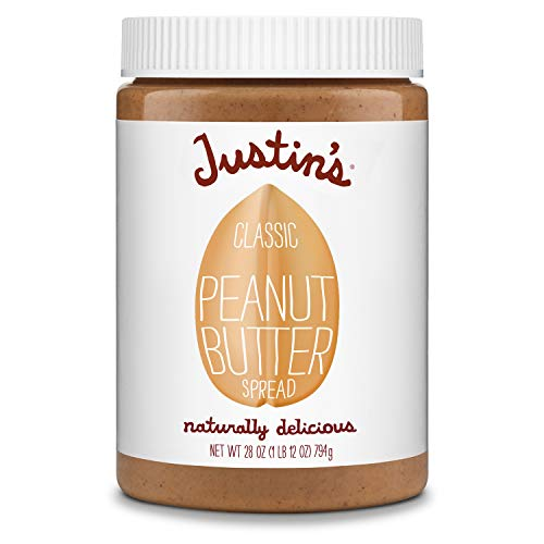 Justin's Classic Peanut Butter, Only Two Ingredients