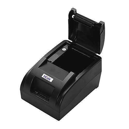 Fesjoy Pequeña impresora portátil portátil de 58 mm con recibo térmico Transmisión de voz Bill Boleto Impresión Compatible con ESC/POS para sistemas Windows/Linux/Android para negocios de
