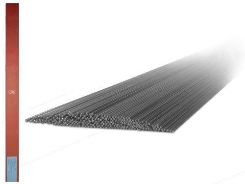 1kg 1.4316 MT-308L V2A VA Schweißstäbe/Drahtelektoden mit 1,6 mm Ø x 1000 mm für Edelstahl und hochlegierte Stähle WIG/TIG Schweißen