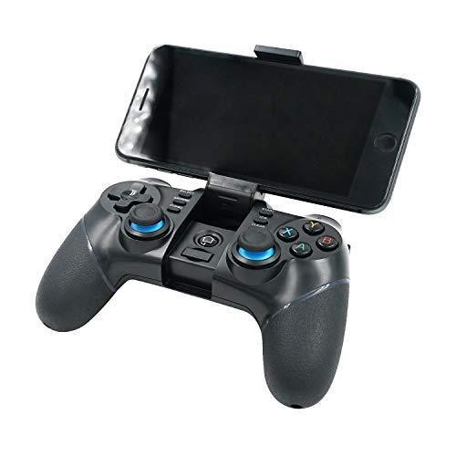 Mcbazel Controlador de juegos inalámbrico, iPega PG-9156 2.4G Bluetooth Game Controller para Android / Windows PC Not for IOS