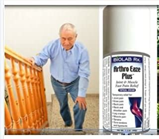 Arthro Eaze Plus - Leg Cramps and Muscle Cramps - All-Natural, Prevents and Stops Leg Cramps in 2 min. Natural Help for Arthritis, Tendinitis, Neck, Shoulders, Back & Knee Pain