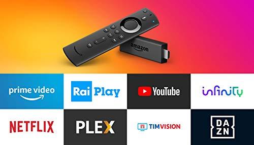 Fire TV Stick Ricondizionata Certificata con telecomando vocale Alexa | Lettore multimediale