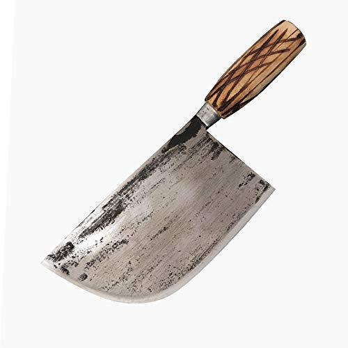 Jian Couperet à Viande Professionnel Robuste, Couteaux de Boucher de Chef en Acier Inoxydable de Cuisine/Couteau de Coupe d'os, pour Le Restaurant d'outils de Cuisine Cadeau