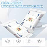 Antibacterial Wet Wipes - Hand Moist Wipes - Fresh Scent Clean Hand Health Care - 20 Wipes/Pack (White)