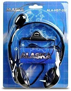 Alaska ALA-HST-257 Multimedia Stereo Headphones with Boom Microphone [並行輸入品]