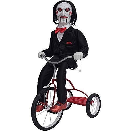 Morbid Enterprises 38' Saw Billy On Trike Animated Halloween Prop