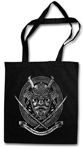 Urban Backwoods Samurai I Hipster Bag Beutel Stofftasche Einkaufstasche