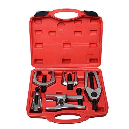 5-en-1 Rótula Extractor Rótula barra de acoplamiento Conjunto removedor Extractor Automotive Tool Kit de splitter herramienta de eliminación de Pitman Brazo Extractor