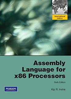 Assembly Language for x86 Processors: International Edition