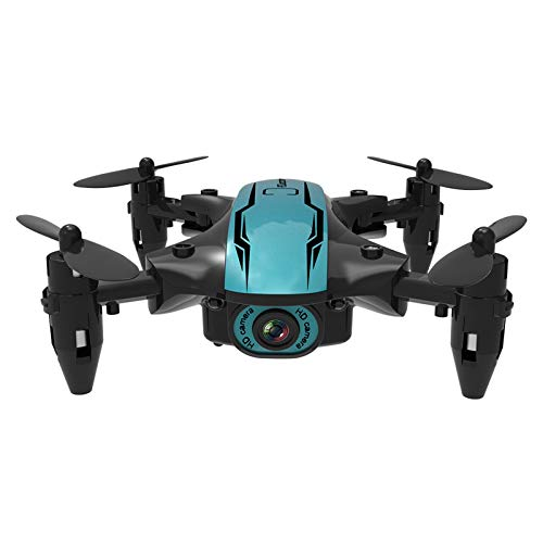 HP95 Mini Foldable Drone for Kids with 480P/1080P/4K Camera Toys Gifts for Boys Girls, Headless Mode, Return Home, GPS FPV WiFi RC Quadcopter for Beginners,with LED Light (with 1080P Camera)