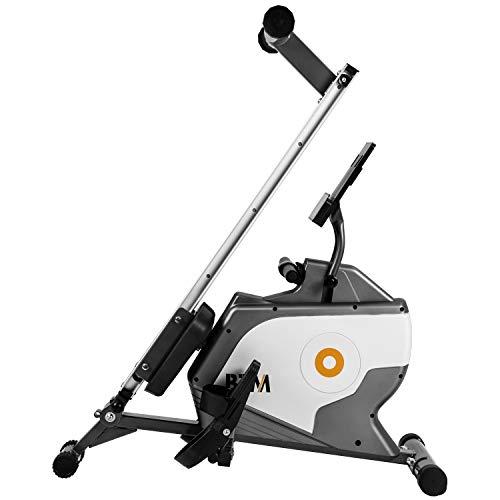 ADFBL Máquina de remo Fitness Cardio Entrenamiento con Resistencia Magnética Ajustable