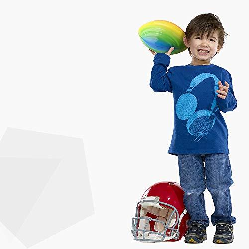 Seika Mini Schaumstoff-Ball, für Fußballspielzeug, Sportbälle, für draußen, 20,3 x 12,7 cm