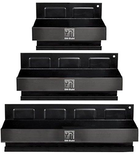 SW-Stahl Magnet Ablage-Set 3-teilig, universal, 07005L