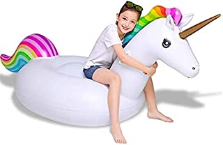 Flotable Giant Riding Unicorn