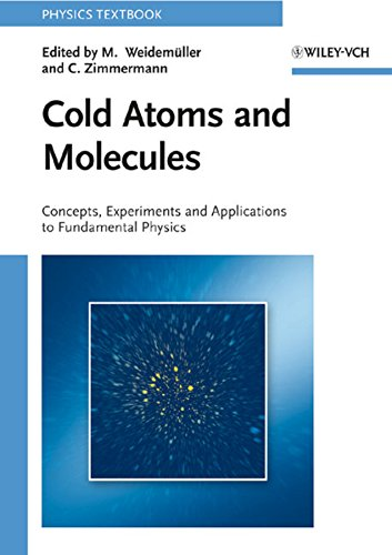 Cold Atoms and Molecules: Concepts, Experiments and Applications to Fundamental Physics