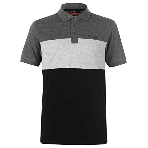 Pierre Cardin Hommes Cut and Sew Polo T-Shirt