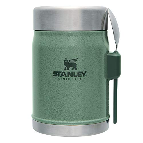 STANLEY(スタンレー)クラシック真空フードジャー0.41Lグリーン保温保冷ランチスープ保証09382-010(日本正規品)