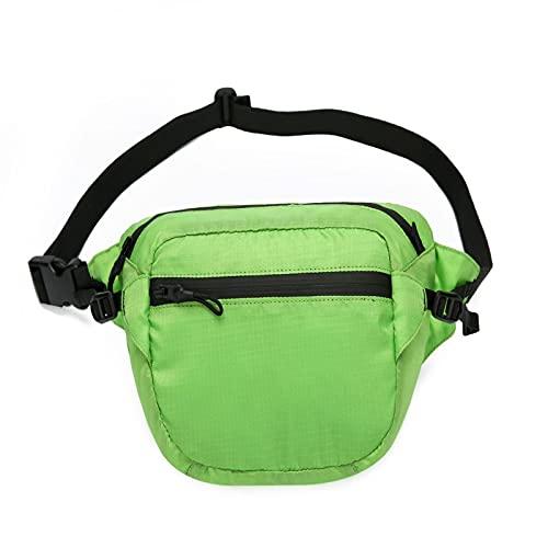 QIANJINGCQ Il nuovo marsupio sportivo all'aperto moda borsa portatile per cellulare multifunzionale marsupio da viaggio quotidiano da uomo alla moda zaino a cartella