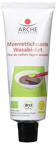 Arche Meerrettichpaste Wasabi-Art, 2er Pack (2 x 50 g) - Bio