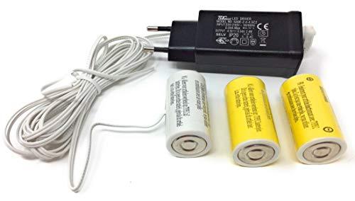 CBK-MS Batterieadapter 4,5V als Batterieersatz für 3x C Batterien für batteriebetriebenen Artikel mit 3x C Batterien