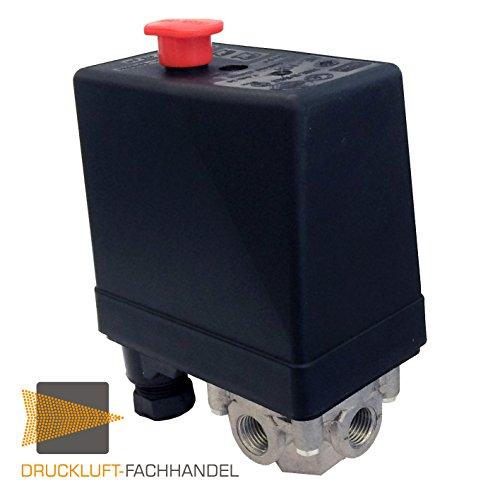 NEMA Druckschalter 400V bis 12 bar DF10116 für Kompressoren Typ 400V PES 12 mit Entlastungsventil