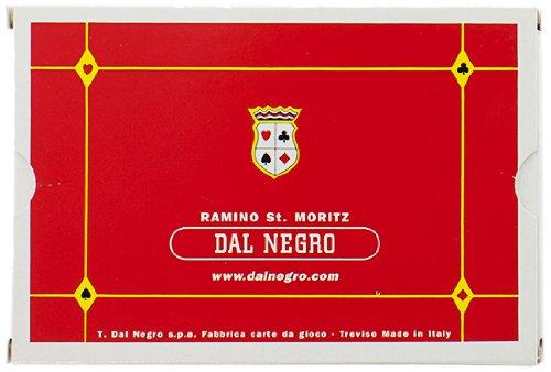 Dal Negro 20011 - Ramino St. Moritz Doppio, Carte da Gioco