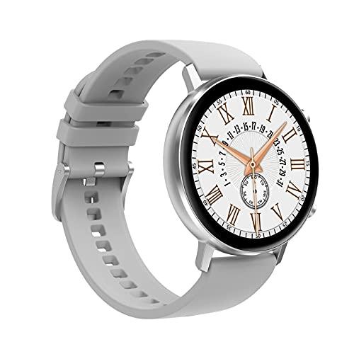 Smart Watch DT96 Pulsera de Fitness Hombres Mujeres SmartWatch Deporte Monitor de Ritmo cardíaco a Prueba de Agua para Android iOS,B