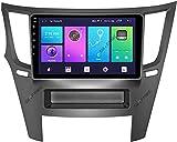 Android 10.0 Coche Stereo 2 Din Head Unit For Subaru Outback Legacy 2008-2013 Gps Navigation Pantalla Táctil De 9 Pulgadas Mp5 Multimedia Player Radio Video Re(Size:Cuatro nucleos,Color:WIFI:2GB+32GB)