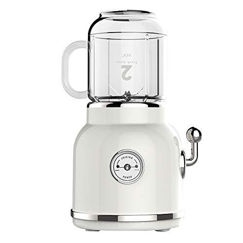 Fruitpers, fruit buffer, huishoudelijke keukenmachine, retro draagbare juicer