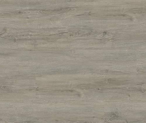 HORI® Klick Vinylboden PVC Bodenbelag I Wasserfest I viele Dekore wählbar I Eiche Ambiente Regensburg I HANDMUSTER