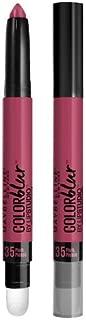 Maybelline Lip Studio Color Blur, Plum, Please 0.04 oz (1.25 g) (Pack of 6)