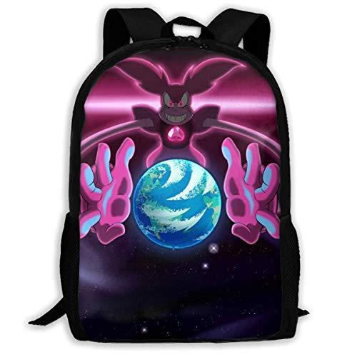 Steven Universe Spinel Earth Shoulder Bag Bookbag Children's Backpack Boys Travel Bag Primary School Book Bag for Women Men,Size 43X28X16Cm