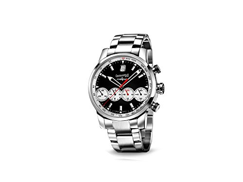 Eberhard Chrono 4 Grande Taille Automatik Uhr, ETA 2894-2, 43mm, Déclic, 31052.3