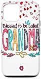 iPhone 12/12 Pro Blessed To Be Called Grandma PC Flower Heart Mother's Day PC Case
