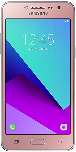 Samsung Galaxy Grand Prime Plus SM-G532M Smartphone, 8 GB, Android Quad-Core, 1,4 GHz, 8 GB Speicher, 5 Zoll Display, 8 MP Kamera, Importierte Version – Rosa Gold