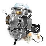 UGUTER Go Kart Carburetor Kit de reemplazo de reparación de carburador de Servicio Pesado para Polaris Magnum 325 330 400 425 500 Auto Motor Accesorios Carburador 125cc